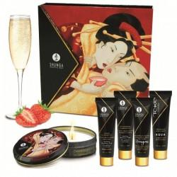 Kit Secrets Shunga Fresa