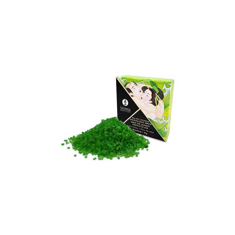 Sales Baño Shunga Lotus Green 75GR