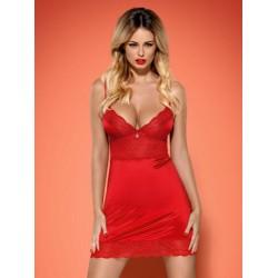 Vestido 2Pie Lovica Rojo Obs